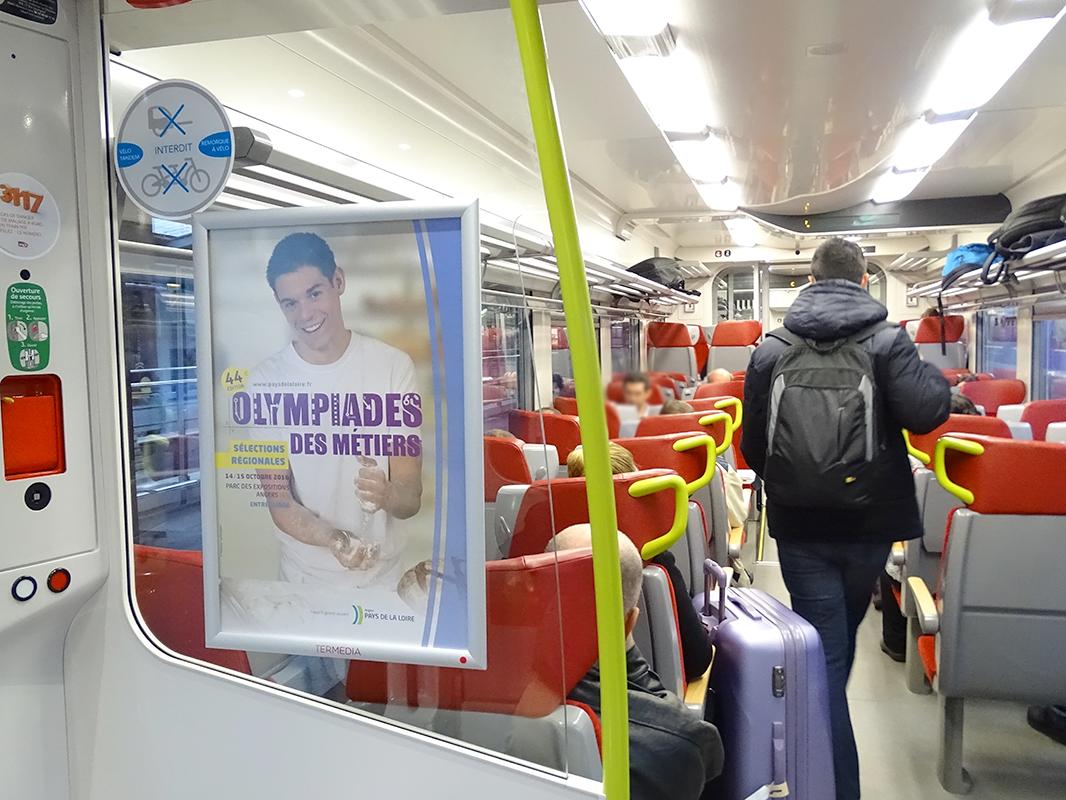 TerMedia, de nouveaux espaces de communication à bord des trains TER Pays de Loire
