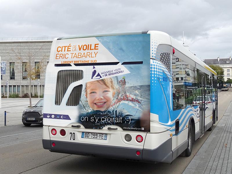 La Régie Media étend sa marque BusMedia, avec le gain de la régie publicitaire des bus de Lorient.